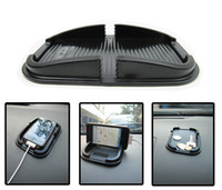 Wholesale CAR mat IPHONE mobile rack auto supporter multi function buy content box car navigation frame