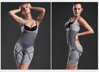Women Bodysuit Invisible Magic Shapers Women's shapers Natural Bamboo Charcoal Invisible Magic Shapers Slimming Body Shaper 1pcs