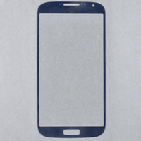 Wholesale Hot Sell black white pebble blue For Galaxy S4 Outer Screen Glass Lens Glass Screen Cover For Samsung Galaxy S4 i9500