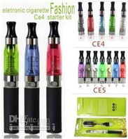 Electronic Cigarette Atomizer  e cig for Chrisma CE4 KIT BLISTER PACK 1.6ml 2.4OHM Atomizer Electronic Cigarette 650 900 1100mah EGO serise colorful battery e-cig 60pcs