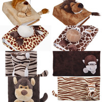 Wholesale Creative Cute Cartoon Animal Pattern Photo Frame Cozy Soft Stereo Fluff Picture Photo Album Colors Choose ZFL