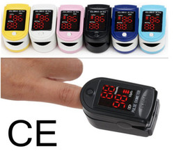 Wholesale NEW CONTEC FDA amp CE Pulse Fingertip Oximeter Blood Oxygen SpO2 Monitor Oximeter