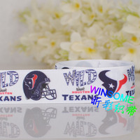 Wholesale 10yards quot mm popular sports ball logo cartoon printed ribbon packing DIY polyester Grosgrain ribbon