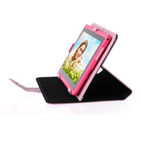 Wholesale New Promotion Tablet Stand Case For Inch Android MID Tablet PC Leather Cover Case