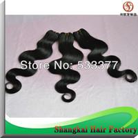Cheap Body Wave hair extension Best Brazilian Hair machine brazilian hair