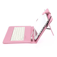 Hot 9'' Inch Leather Flip Tablet Case with Stand keyboard US...