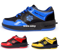 Wholesale children skateboards shoes boys and girls sport footwear with wheel roller shoes single wheel Child Sport shoes