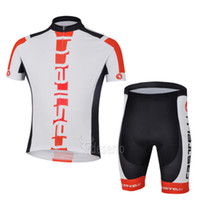 Wholesale Cycling jersey white short sleeve cycling clothing cycling Close fitting short kits cycling clothing sets