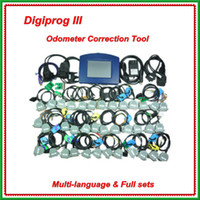 Wholesale 2013 hot selling Digiprog III Mileage Correction Tool Digiprog Odometer Programmer v4 with Full Software with DHL