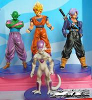 Wholesale Action Figures Toys Dragon Ball Z Super Saiyan generations Freeza Piccolo Goku Dragonball devil Cartoon Christmas Gifts