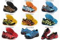 Wholesale Training Running Shoes Salomon Store SpeedCross3 Zapatillas Outdoor Sports Shoes styles mix orders Hiking Shoes Worldwide Shipment