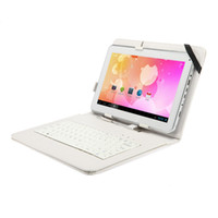 Wholesale Hot Durable Inch Leather PU Case MID Keyboard Case For quot quot Tablet PC
