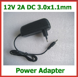 Wholesale 12V A Power Supply EU Plug DC x1 mm Charger for Acer Iconia Tab A500 A501 A200 A100 A101 Tablet PC Power Adapter