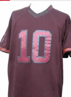 2013 New Style 10 Robert III Drenched Limited Burgundy Jerse...