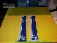 Thailand Quality #11 OZIL Away Yellow 13- 14 Soccer Jersey Sh...