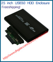 Wholesale 2 quot USB HDD Case Hard Drive SATA External Enclosure Box dropshipping