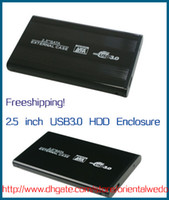 Wholesale quot USB HDD Case Hard Drive SATA External Enclosure Box dropshipping