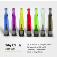Cheap Wholesale price bottom coil system and replaceable coil head gs h2 bottom coil clearomizer