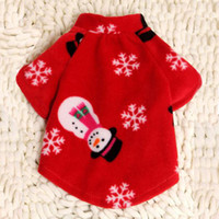 Wholesale cute dog cloth New arrival dog Sweater Winter coat christmas gifts dog clothes cartoon Cute dog clothing fashion pet Soft dog clothing teddy