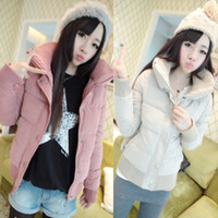 Down Coats Women Waist_Length Student 2014 new fashion thickening jacket slim cotton-padded jacket winter warm short design down parkas women's wadded jacket