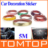 Wholesale 5M Car Auto Decoration Sticker Thread indoor pater Car Interior Exterior Body Modify Decal Colors Drop Shipping K937