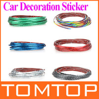 Wholesale 5M Car Auto Decoration Sticker Thread indoor pater Car Interior Exterior Body Modify Decal Colors K962S K962 K962B K962GR K962B