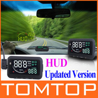hud - ifound Updated nd Gen ActiSafety Multi Car HUD Vehicle mounted Head Up Display System OBD II Universal Overspeed Warning K941