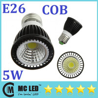 Wholesale Energy Saving W Led Spotlights COB Angle E26 E27 GU10 Led Lights Bulb Warm Pure Cool White V High Power CE CSA UL