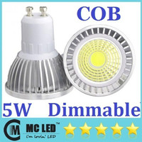 Wholesale GU10 W Led Lights Bulb Lumens COB Led Lights Warm Cool White E27 E26 E14 MR16 Led Dimmable Spotlights Angle V