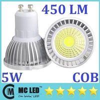 Wholesale High Power COB W GU10 Led Spotlights Lumens CRI gt E27 E26 E14 B22 MR16 Warm Cool White Led Lights Bulb Lamp Angle V