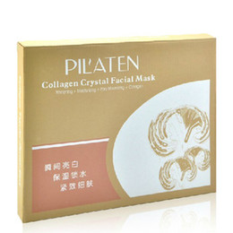 Wholesale Collagen Crystal Face Mask PILATEN Plant Essen Anti age Skin Care Product Natural Best Smooth Clear Best Remove Wrinkles Face Mask