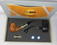 Wholesale vapes Ecig kits vapor pipes sale e pipe newest generation metal smoking pipes sets