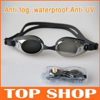 Wholesale Watch for Swimming PC Plating Anti fog waterproof Anti UV Swim Goggles Swimming Games for Adult Swim Myopic Goggles HW0087