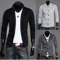 Wholesale New Hot Stylish Men Casual Slim Fit Button Suit Blazer Jackets Coat Colors