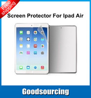 Wholesale Anti glare Matte LCD Screen Protector Cover Guard Film for iPad Air iPadAir Ipad iPad Air No Retail Package