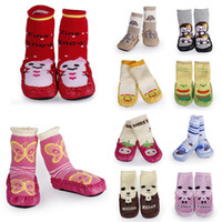 Girl baby home shoes - Vogue Adorable Unisex Baby Non slip Footgear Embroidering Leather Sole Skidproof Toddler Shoes Socks Home Sock DIU