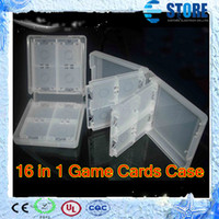 Wholesale White in Game Storage Card Holder Case Cover For Nintendo DS Lite DSI DSL wu