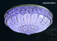 Wholesale Elegant Living Room K9 Crystal Ceiling Light LED Lamp Lighting Fixture