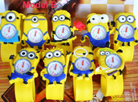 Wholesale NEW Cartoon D despicable me minion watch kids children cartoon watches christmas gift