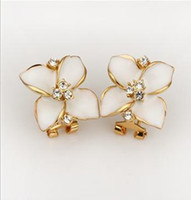 Wholesale Classical fashion Four Leaf Clover earring charming elegant ear hammer