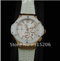 Wholesale Top brand Mens Automatic Chronograph Watch Swiss Eta Movement Ceramic ring Sapphire K ROSE GOLD MM Ref PE