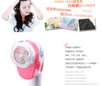 Wholesale Mini Hair Ball Trimmer Fabric Sweater Clothes Shaver Lint Remover Free DHL Shipping