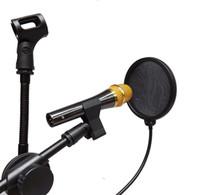 Goose neck Flexible Studio Microphone POP shield acoustic fi...