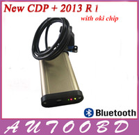 Code Reader For BMW tcs cdp [HK free shipping] NEW 2013.R1 TCS cdp pro plus with keygen for cars & truck 2in1 with oki chip and bluetooth-high quality!