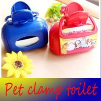 dog toilet - PET DOG CAT POOPER SCOOPER Easy Clip Pickup Poop Scoop Cleaner pet products pet Clamp toilet