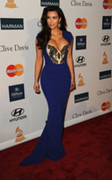 2013 Prom Dresses Kim Kardashian Red Carpet Cleavage Pre Gra...