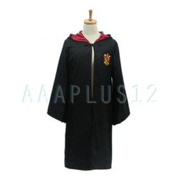 Wholesale 1Set Harry Potter Youth Adult School Robe Gryffindor costumes Harry Potter Tie P13_A P14