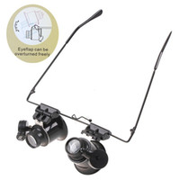 Wholesale 1PC Black High powered Jewelry Appraisal Pull out Magnifying Glass ZEH