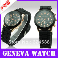 Wholesale Beatiful new hot selling fashion geneva quartz watch for mens and women Wrist Watch with discounted price
