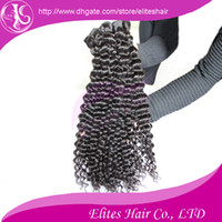 Wholesale Indian virgin hair Deep Curly wave quot quot hair weaves virgin Indian human remy hair extension IH403
